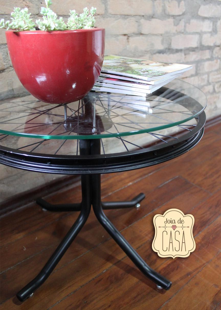 Aparador Westwing ~ Mesa de roda de bicicleta Joia de Casa