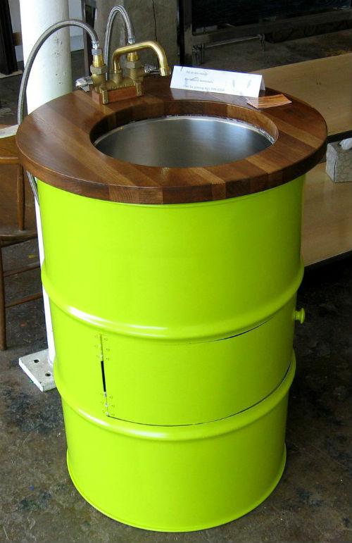 supraciclagem de tambores de a o joia de casa. Black Bedroom Furniture Sets. Home Design Ideas