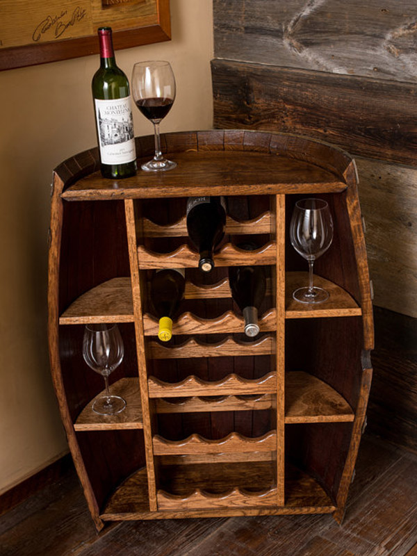 Reutilizando Barril De Vinho Joia De Casa