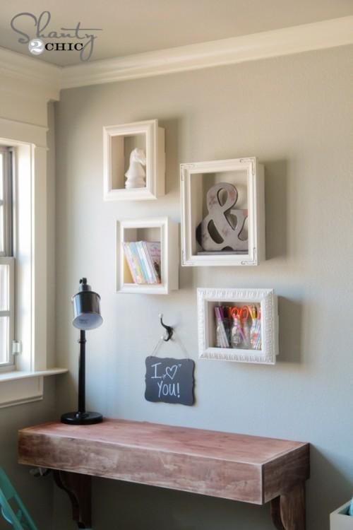 fa a voc mesmo nicho emoldurado joia de casa. Black Bedroom Furniture Sets. Home Design Ideas