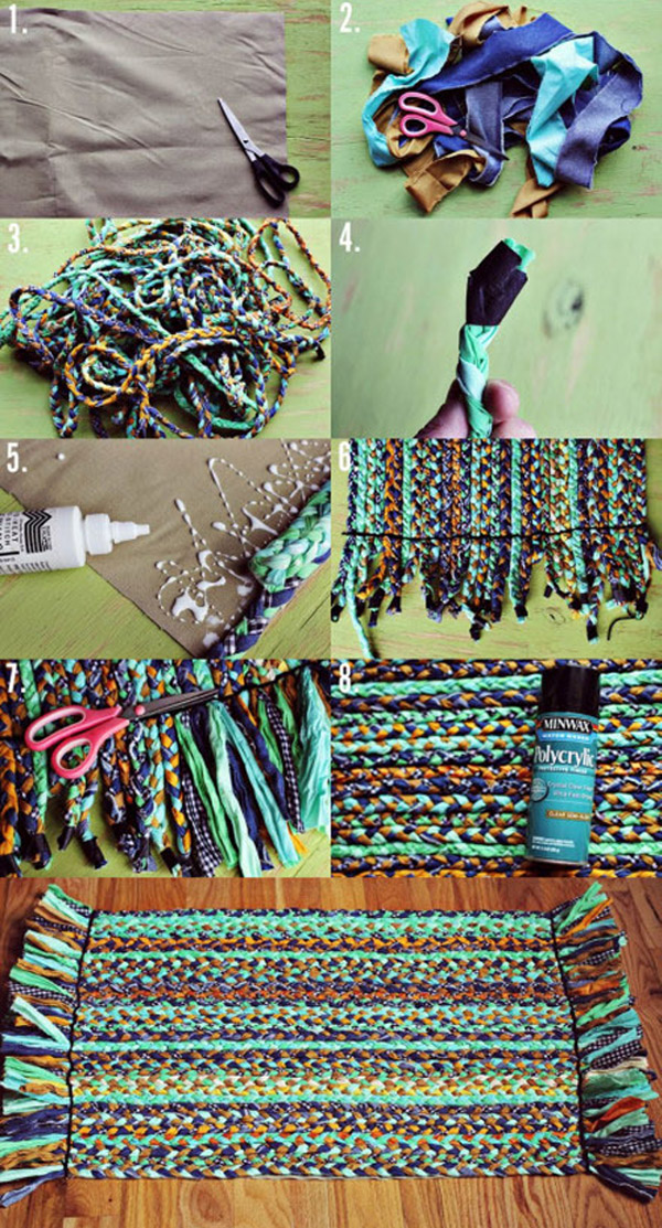 Conhecido Oito maneiras de fazer seu próprio tapete | Joia de Casa OG36