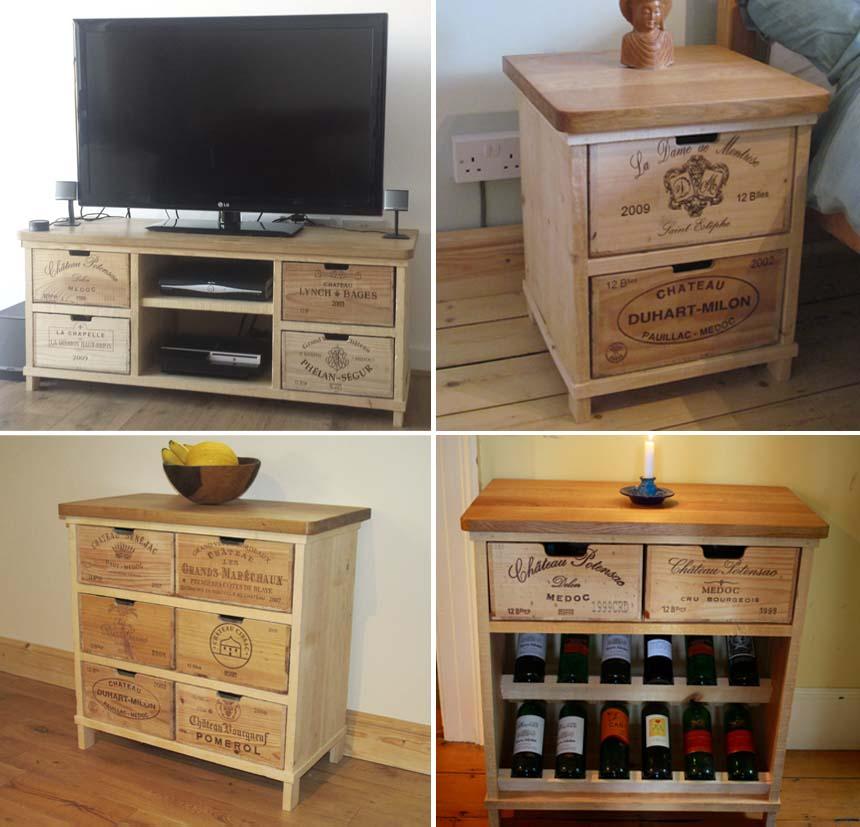 Ideias para reutilizar caixas de vinho joia de casa Www home decor ideas