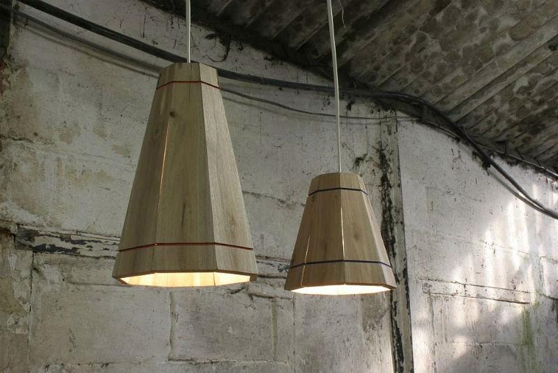 luminária pallet