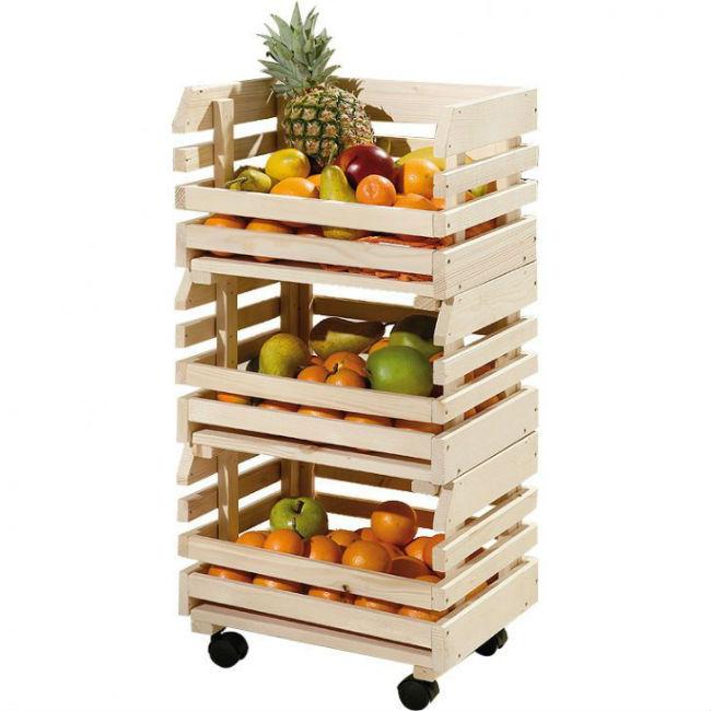 Aparador Suspenso ~ Dicas de reutilizaç u00e3o de caixotes na cozinha Joia de Casa
