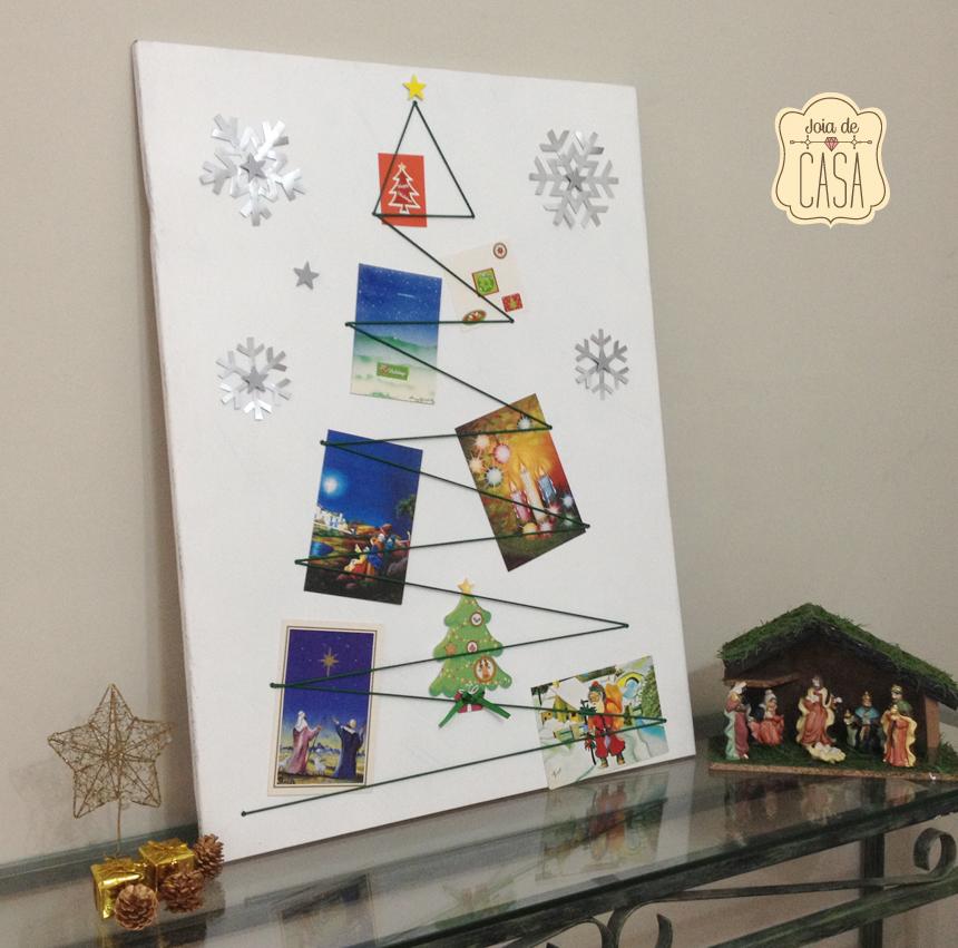 Fa a voc mesmo um mural natalino joia de casa for Mural sobre o natal