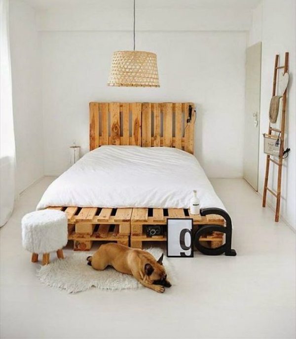 Inspira es camas de pallets joia de casa for Ideas para decorar mi casa economicamente