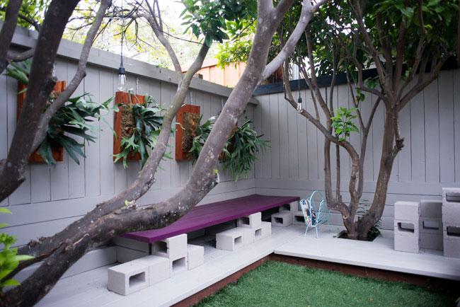 bancos de jardim supraciclados  Joia de Casa