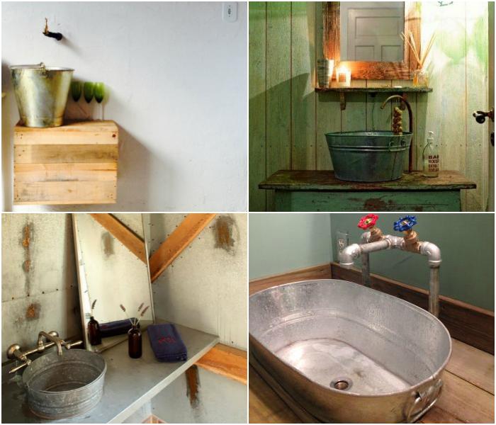Pias e cubas criativas para lavabos joia de casa for Lavabos para restaurantes