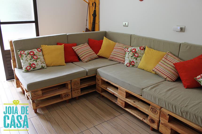 Parte 1 sala de tv sof de pallets joia de casa for Casas de sofas en montigala