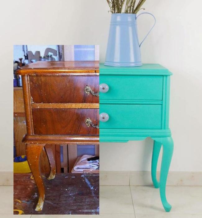 Antes e depois de m veis antigos joia de casa - Reformar muebles viejos ...