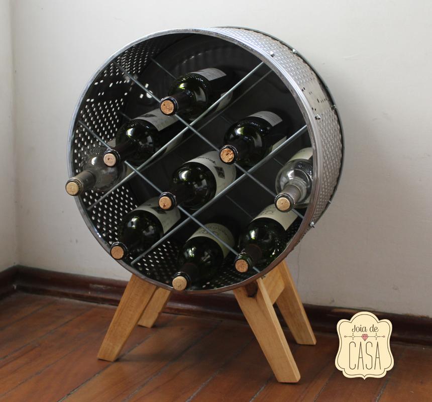 Réutiliser son lave-linge en cave à vin